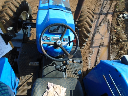 LOTE 05: TRATOR NEW HOLLAND 7630