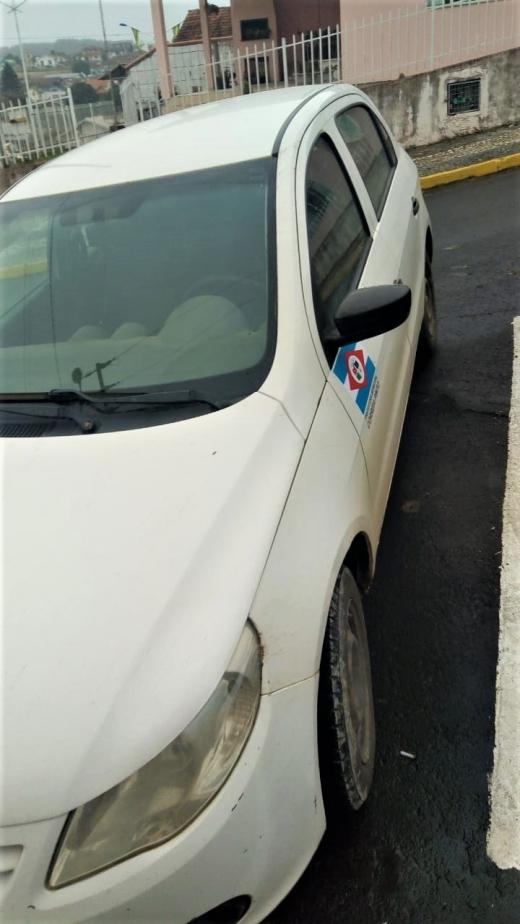 LOTE 03: VW GOL 1.0, ano 2011 e modelo 2012, placas MIO 4944