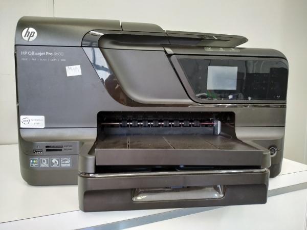 LOTE 04: IMPRESSORA MULTIFUNCIONAL HP OFFICEJET PRO 8600