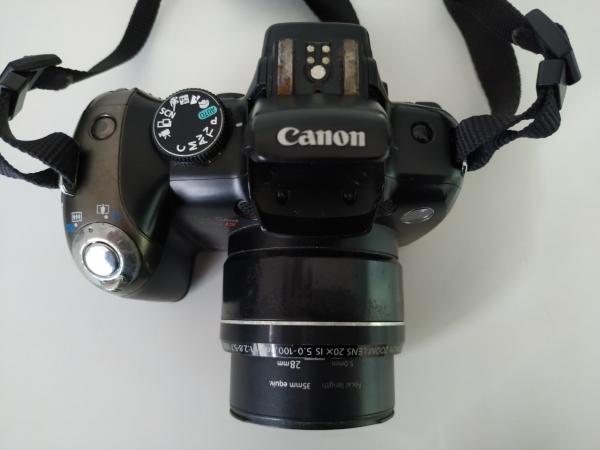 LOTE 06: CÂMERA DIGITAL CANON POWERSHOT Sx20IS