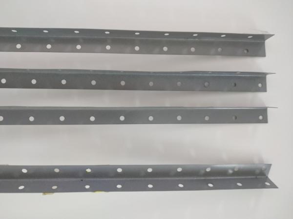 LOTE 07: ESTANTE DE AÇO 30cm, 6 prateleiras