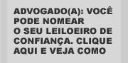 FORMULÁRIO PARA INDICAÇÃO DOS LEILOEIROS